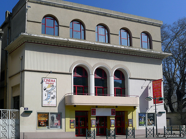 French Movie Theater Front of Tournon